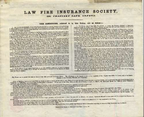 Law Fire Insurance Society