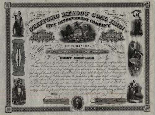 Stafford Meadow Coal Iron City Improvement Company of Scranton